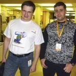 Я и Дмитрий Голополосов