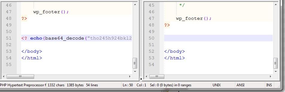 поиск вредоностного кода 1