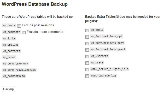Remote Database Backup