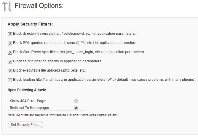 WordPress Firewall 2